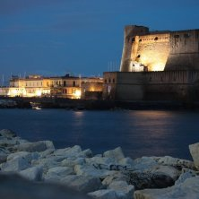 Castel dell'Ovo by night