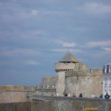 Saint Malo passeggiata bastioni