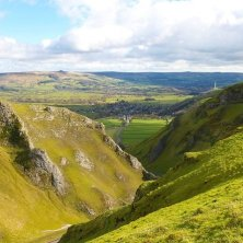 veduta di Peak District usato Pride & Prejudice