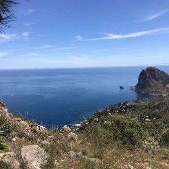 vista da Monte Catalfano Sicilia