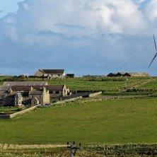 Orcadi panorama turbine vento