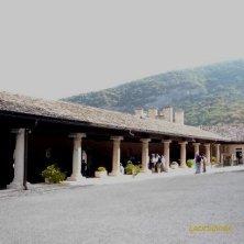colonnato per cannoni a Castel Thun