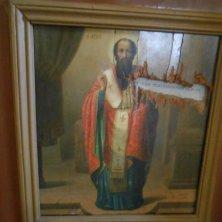 icona sacra monastero Chiroskalitissa Creta