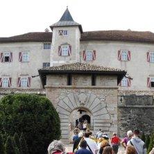 porta spagnola a Castel Thun