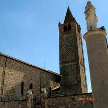 Carrara Santo Stefano_Abbazia_facciata e campanile_phVGaluppo