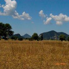 San Pietro Viminario_veduta sui colli verso Monselice_phVGaluppo in bicicletta