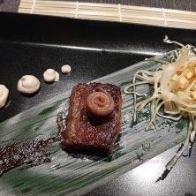 viaggio sensoriale piatto japan liguria
