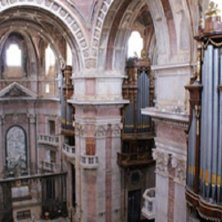 dettaglio basilica e organo