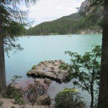 scorcio del lago di Braies