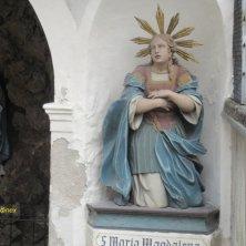 statua cappella dei Cappuccini Chiusa