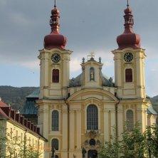 chiesa e monastero a Hejnice Valle di Cristallo