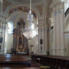 lampadario di cristallo della chiesa di Hejnice