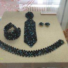 modelli in cristallo nero