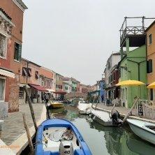 Burano isola colorata laguna di Venezia