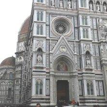 Duomo facciata Fantasmi a Firenze
