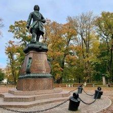 Kronstadt statua Pietro il Grande