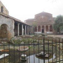 complesso religioso a Torcello laguna di Venezia