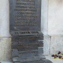 lastra commemorativa Liberec