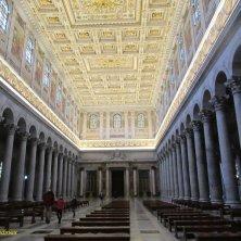 navata centrale San Paolo Roma
