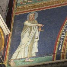 particolare dell'arco di Galla Placidia con San Pietro
