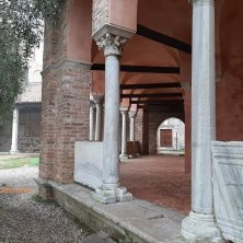 portico Santa Fosca a Torcello