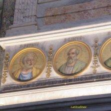 ritratti primi Papi a San Paolo