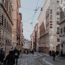 strada del centro storico