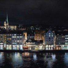 Natale a Zurigo illuminata
