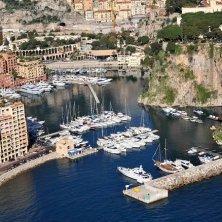 Vista Fontvieille Principato Monaco
