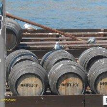 barili di Porto sul fiume vini portoghesi