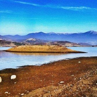 lago inverno Lazio