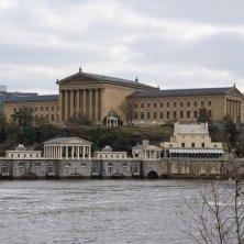 museo e fiume Philadelphia nel cinema