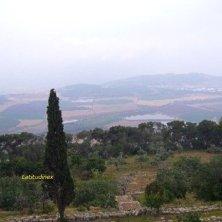 panorama dal monte Tabor
