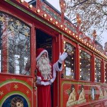 tram guidato da Babbo Natale a Zurigo