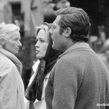 Faye_credits Mastroianni sul set Cortina nel cinema