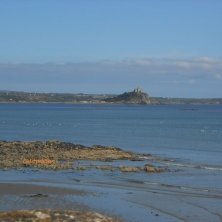 St Michael's Mount dalla costa