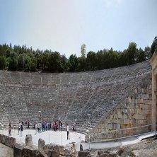 ampiezza del teatro Epidauro