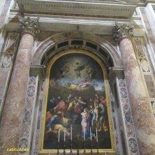 mosaico replica Trasfigurazione Raffaello