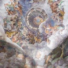 Giulio Romano e allievi Volta della Camera dei Giganti 1530-1534 affresco Mantova Palazzo Te Gian Maria Pontiroli @fondazionepalazzote