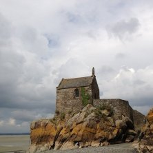 Mont Saint Michel chiesetta
