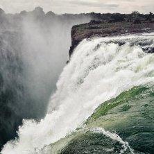 acqua e salto cascate Niagara