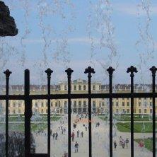 panorama dalla fontana Schönbrunn