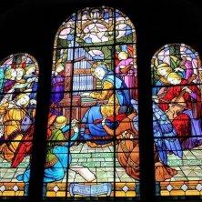 vetrate abbazia Mont Saint Michel