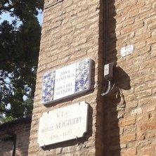 zona di Dante a Ravenna