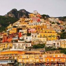 case colorate a Positano