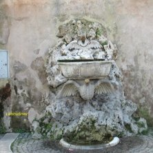 fontana al giardino Sant'Alessio Aventino