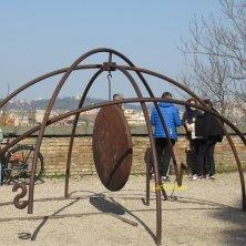 opere moderne giardino Sant'Alessio