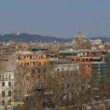 panorama di Roma dall'Aventino