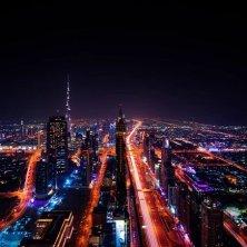 Dubai notturno