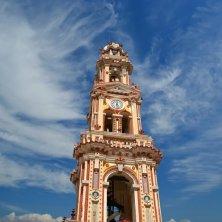 dettaglio torre campanaria